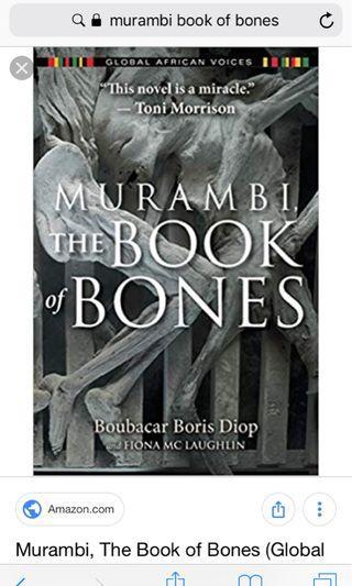 Murambi book of bones