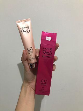Lakme 9 to 5 reinvent cc complexion care cream