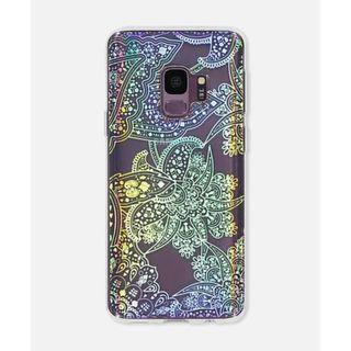 Samsung S9 Typo Phone Case Irridescent Lace Pre-Owned