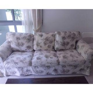 SNAP Sale! Beautiful 3 seater fabric sofa $250 only!
