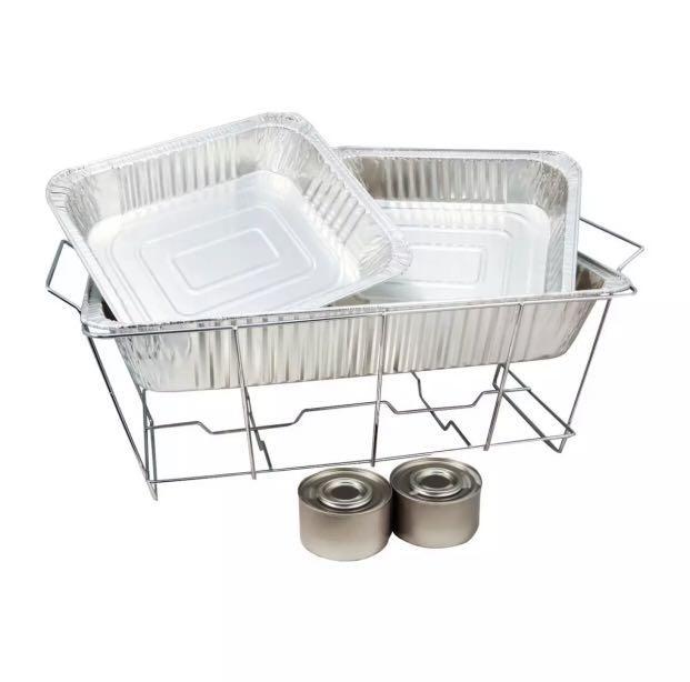 Disposable Buffet Warmer Set Home, Disposable Buffet Warmers
