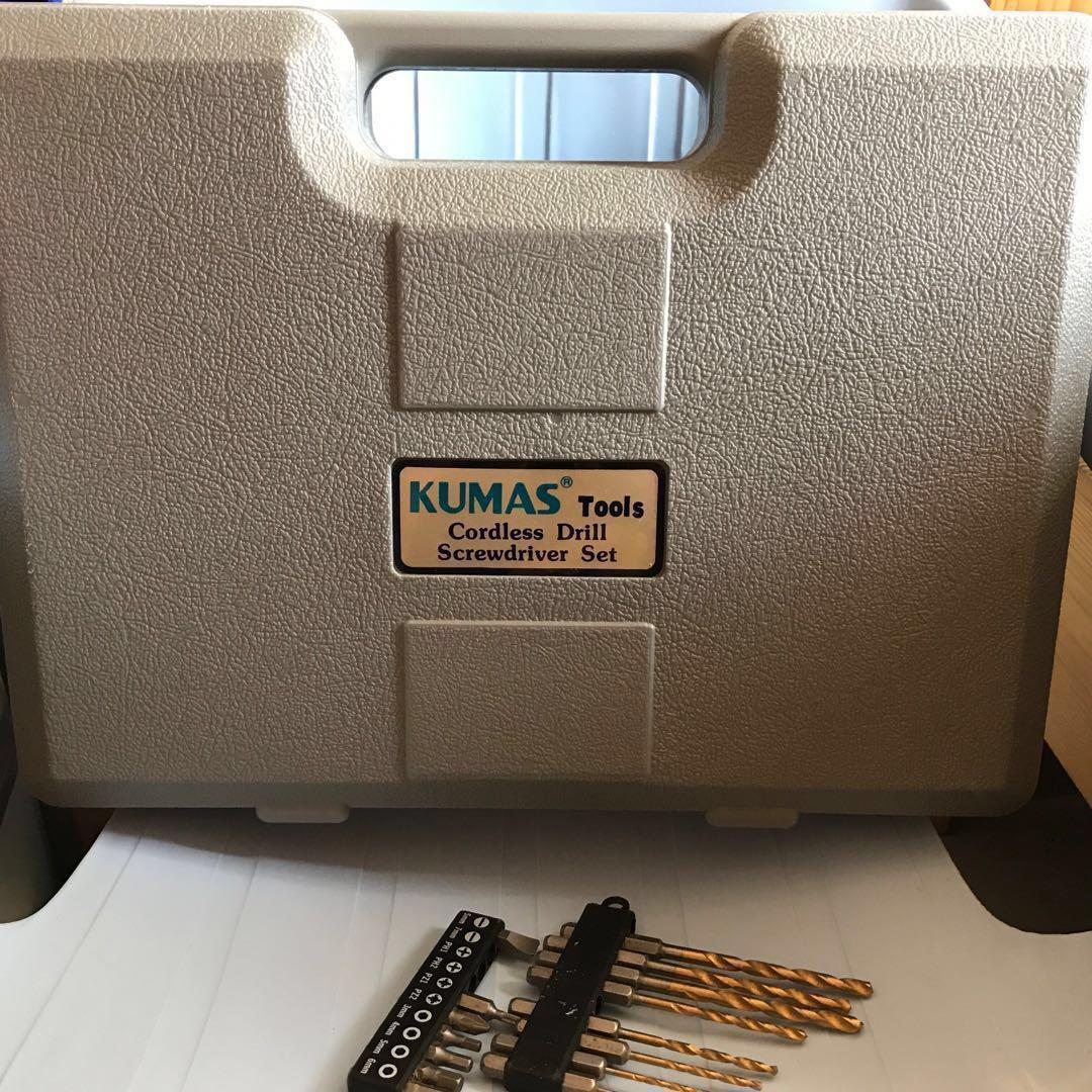 電批 台灣製 KUMAS tools Cordless Drill