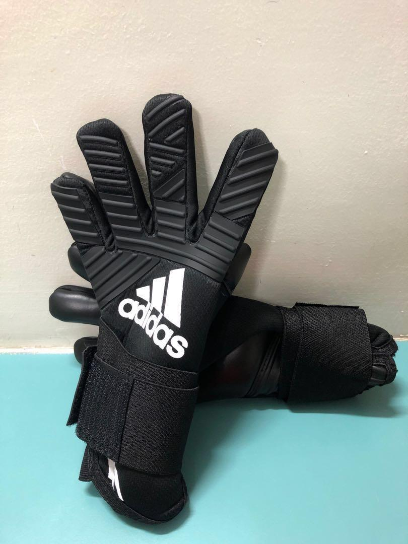 quality design 9530c fc1fe Adidas Ace Trans Pro goalkeeper gloves black, Sports, Sports ...