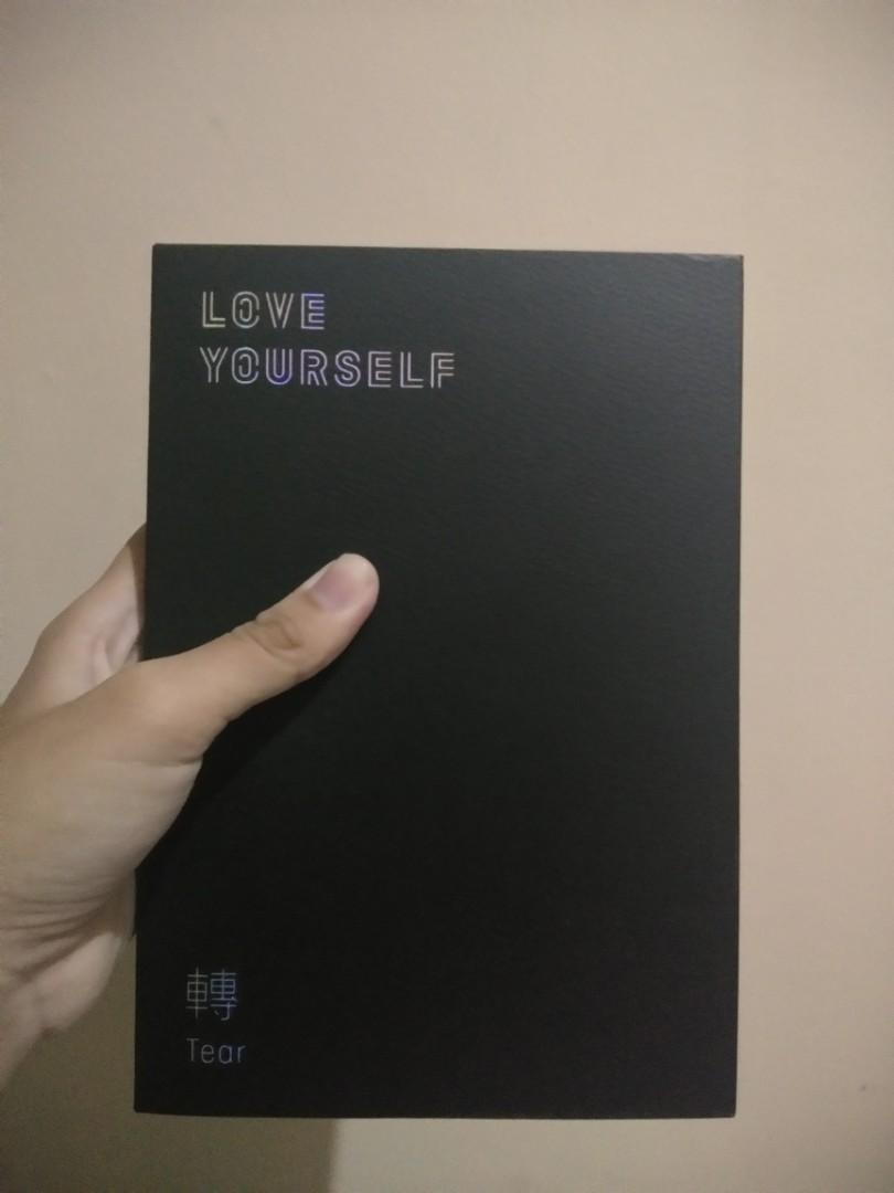 Album BTS LY TEAR ver :R (unsealed)