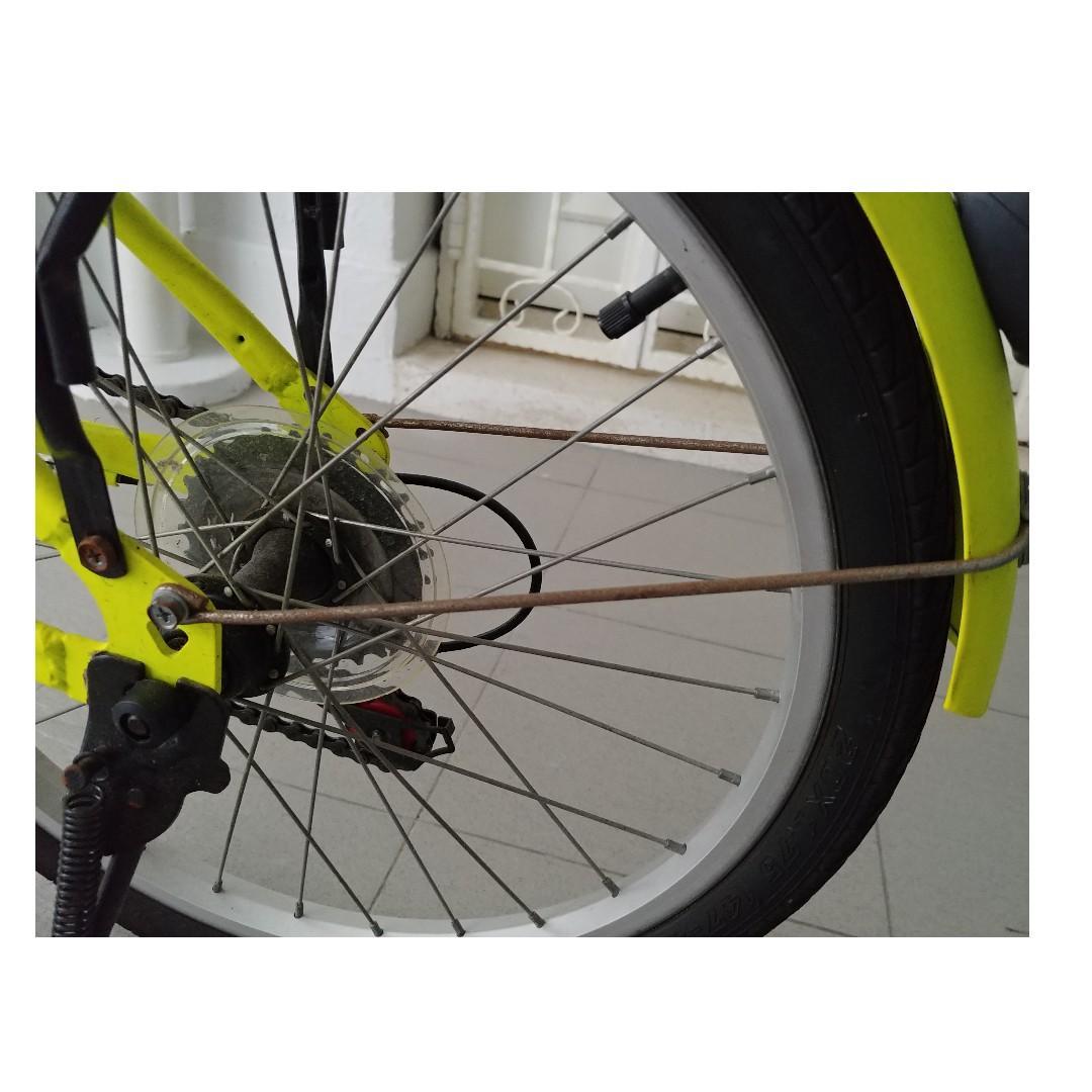Aleoca Viaggi Folding Bike 20' 6 gears