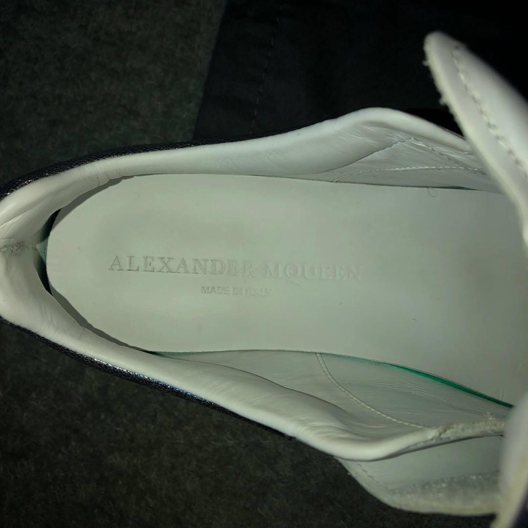 Alexander McQueen Chunky White Sneakers