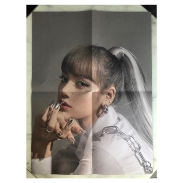 BLACKPINK Kill This Love Poster LISA Black Ver