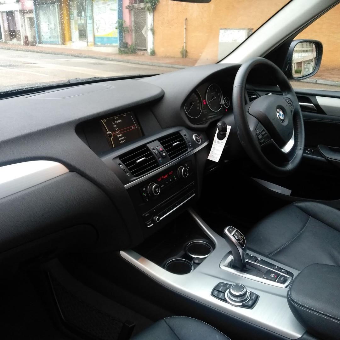 BMW X3 3.0 2012