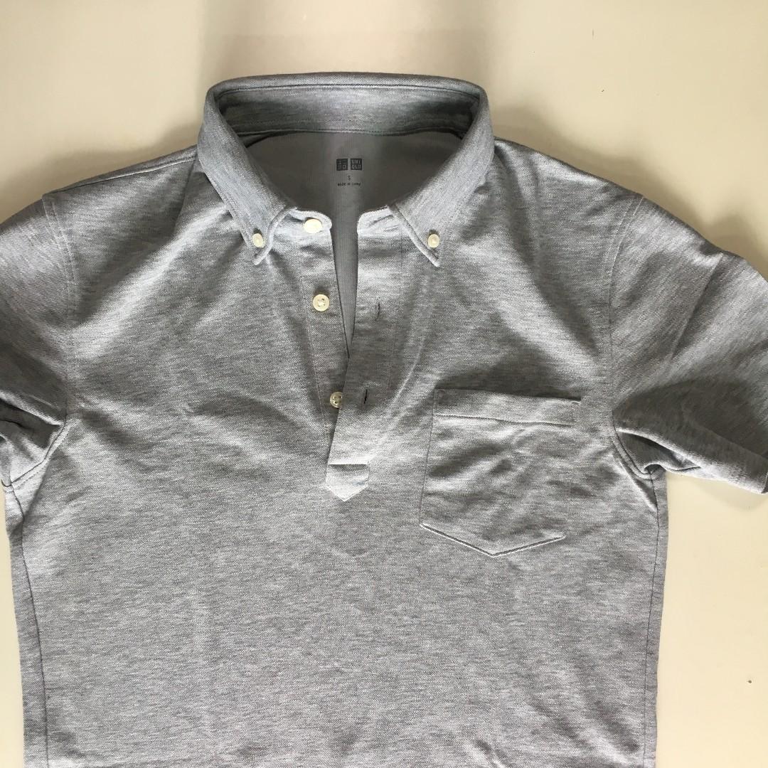 fb4d612e3 BN Uniqlo Polo (Airism), Men's Fashion, Clothes, Tops on Carousell