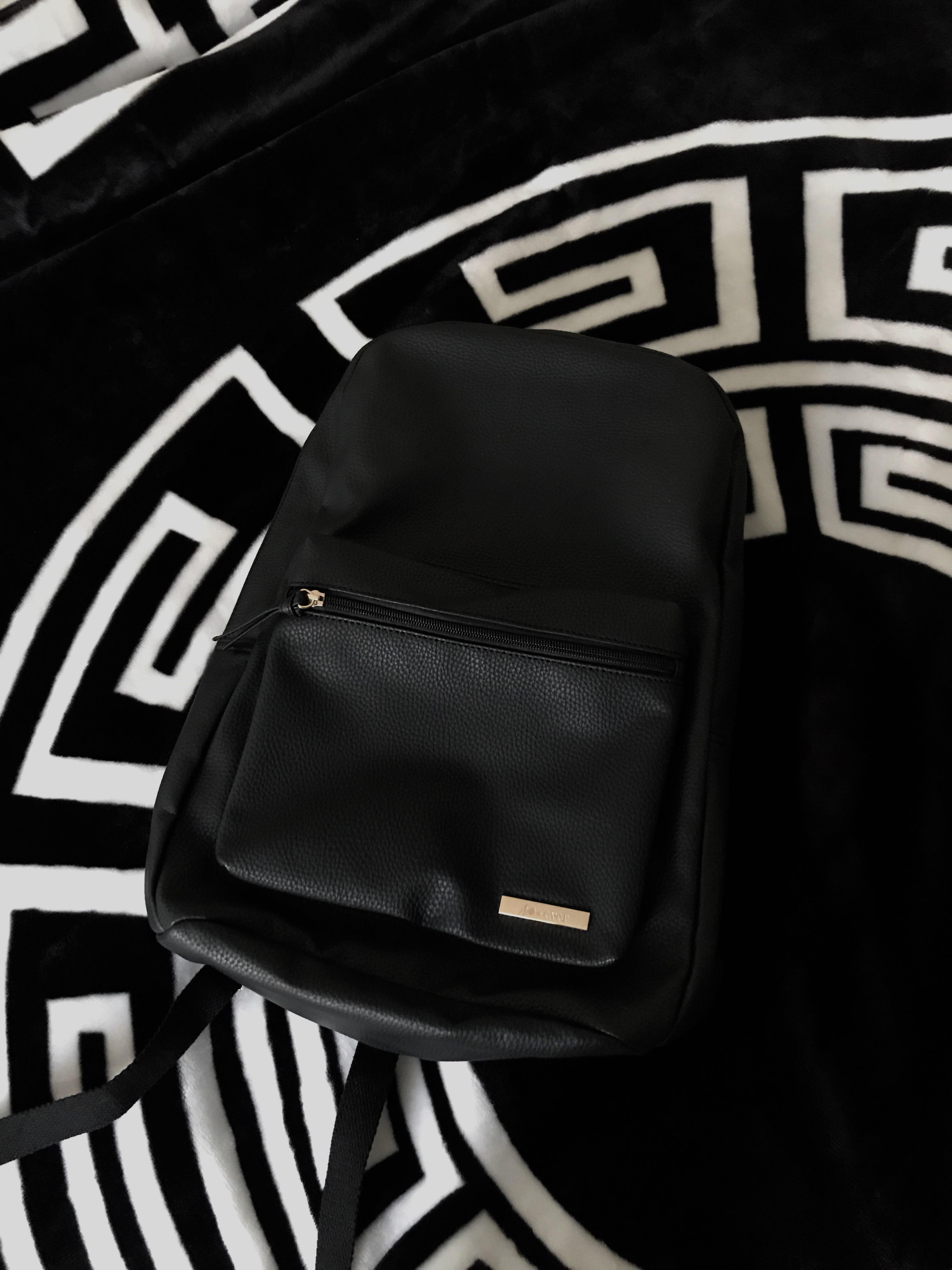 BRAND NEW ava & ever leather backpack