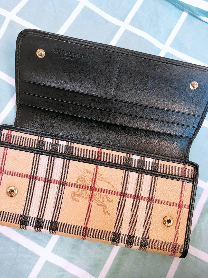 Burberry women's wallet