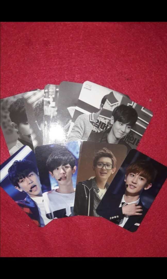 EXO CHANYEOL PHOTOBOOK