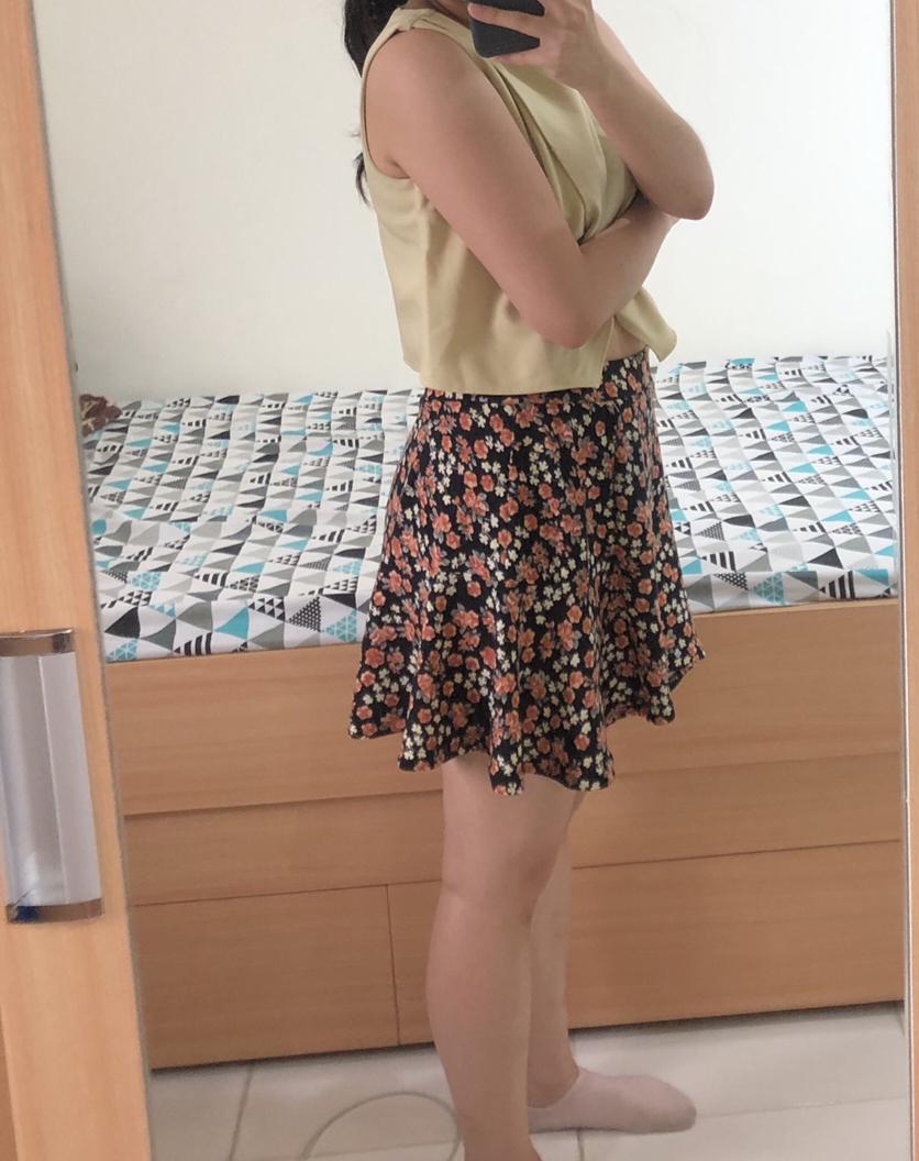Cool Teen Flower Skirt #MAUTHR