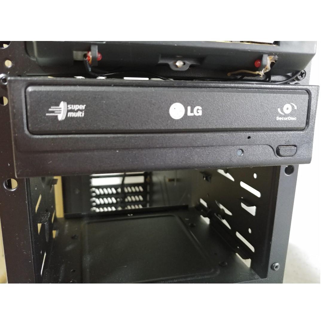 Cooler Master K380 Casing + Free LG DVD writer