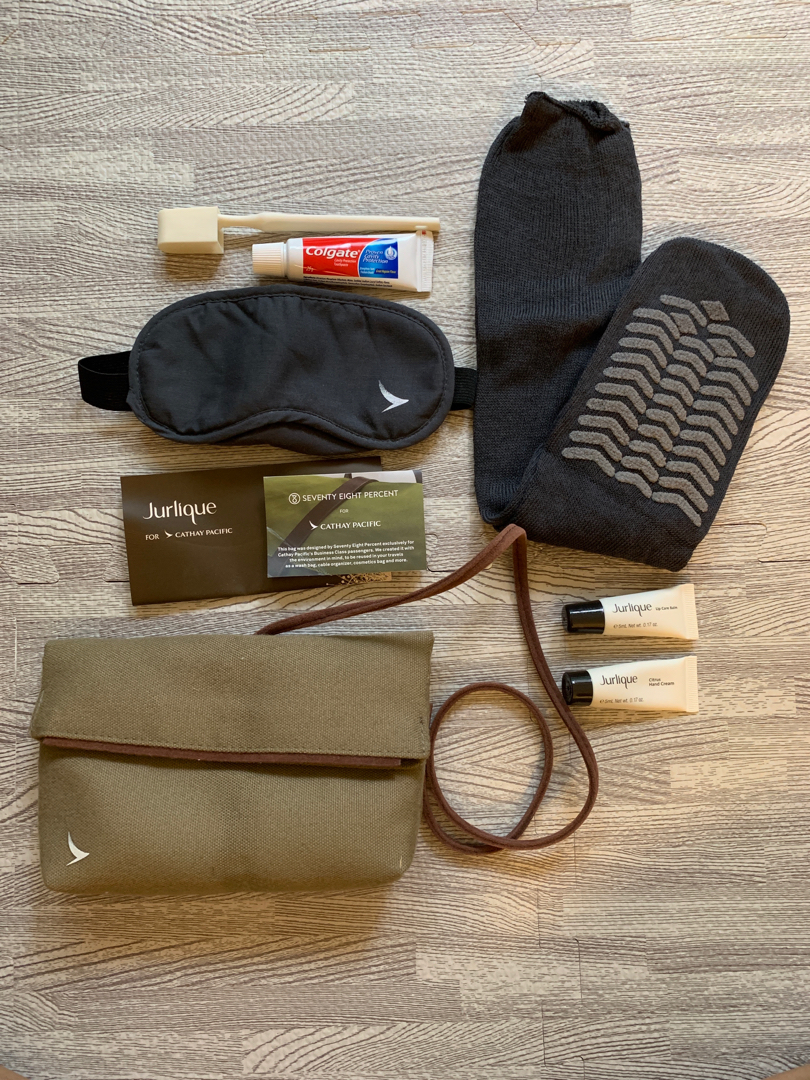 CX travel kit/ overnight kit/ amenity kit/ 國泰