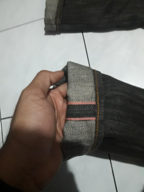 Japan Denim pink line selvedge