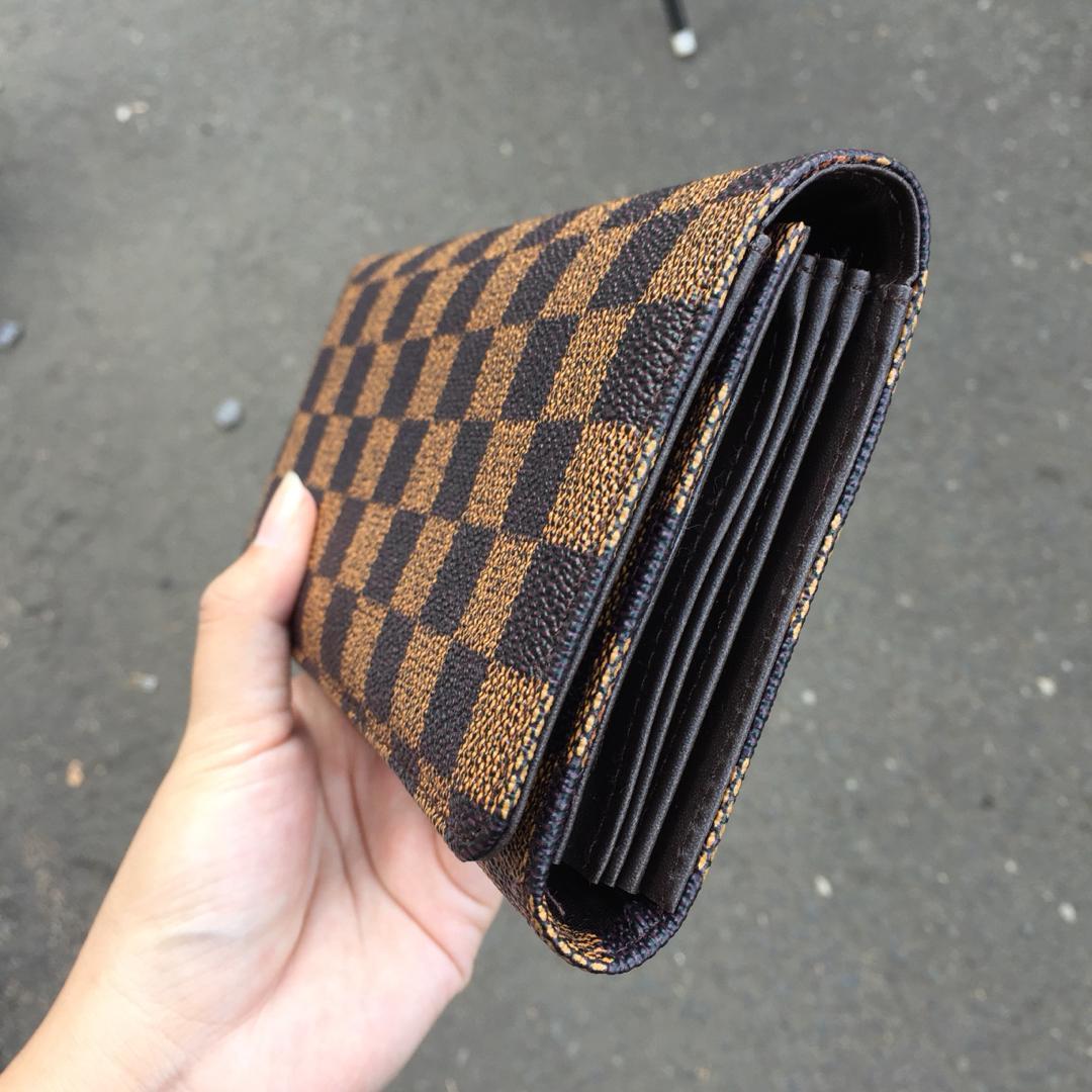 Dompet LV   dompet lipat wanita   dompet panjang   dompet branded