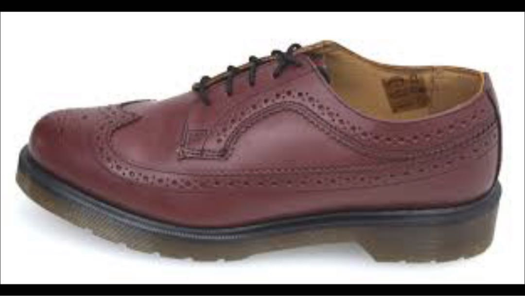 4bd0399a7be8 Dr martens -3989 -cherry red, Men's Fashion, Footwear, Formal Shoes ...