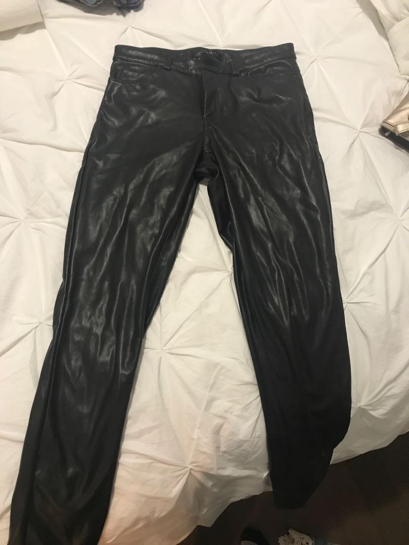 Dynamite faux leather pants. Pick up only.