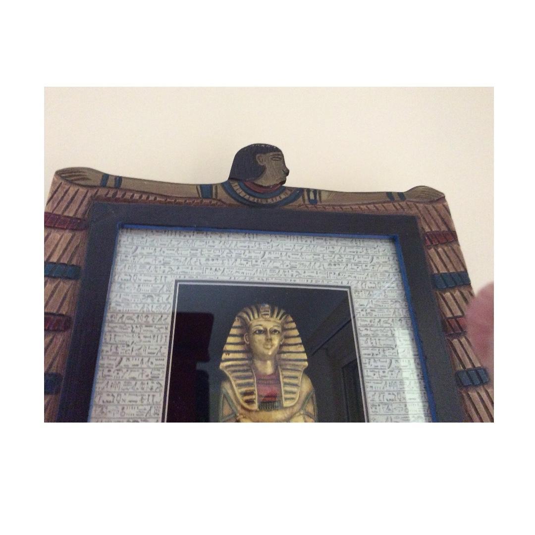 Egyptian Pharoah display
