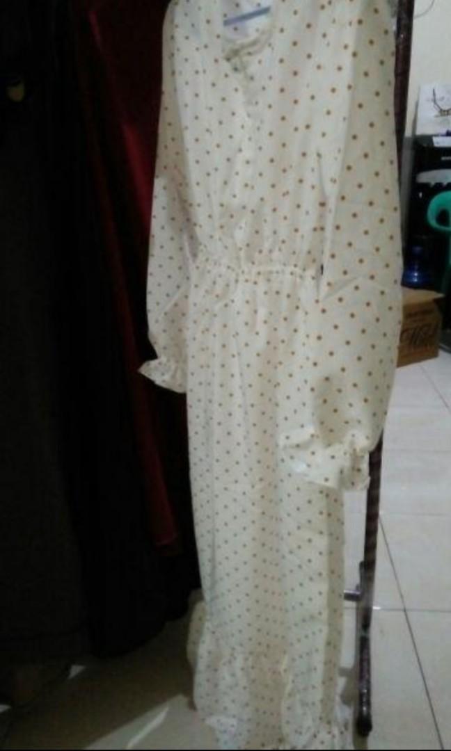 Gamis DMD apparel warna putih