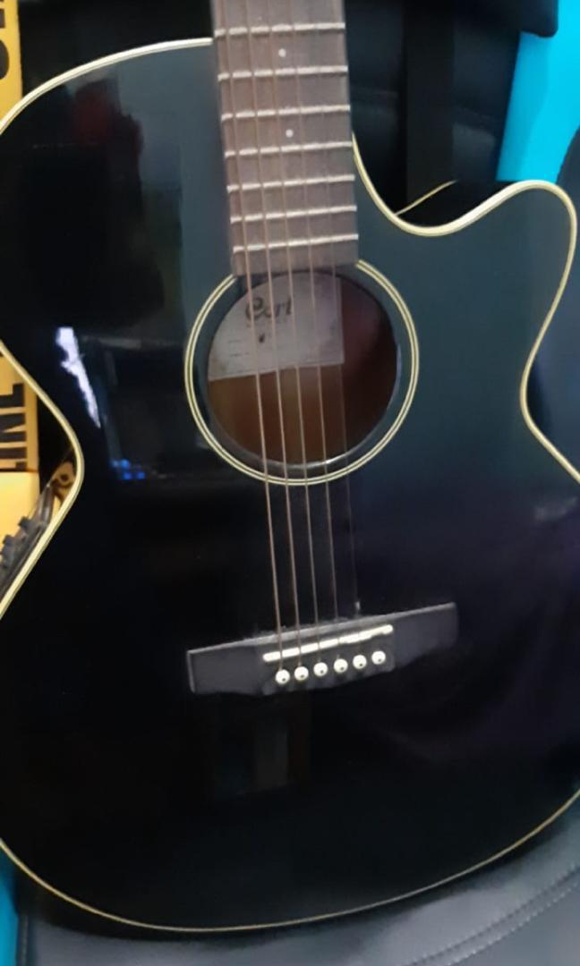 Gitar Cort SFX 1F BK Elektrik Original