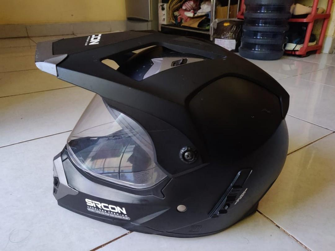 Helm Cargloss sircon supermoto mantap