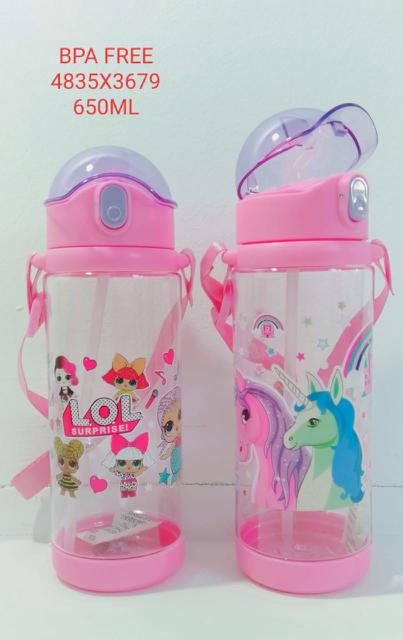 Kids LOL Surprise Unicorn Water Bottle