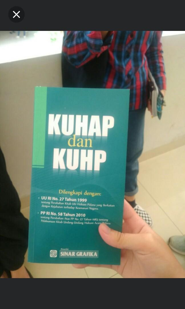 KUHAP dan KUHP #mauthr