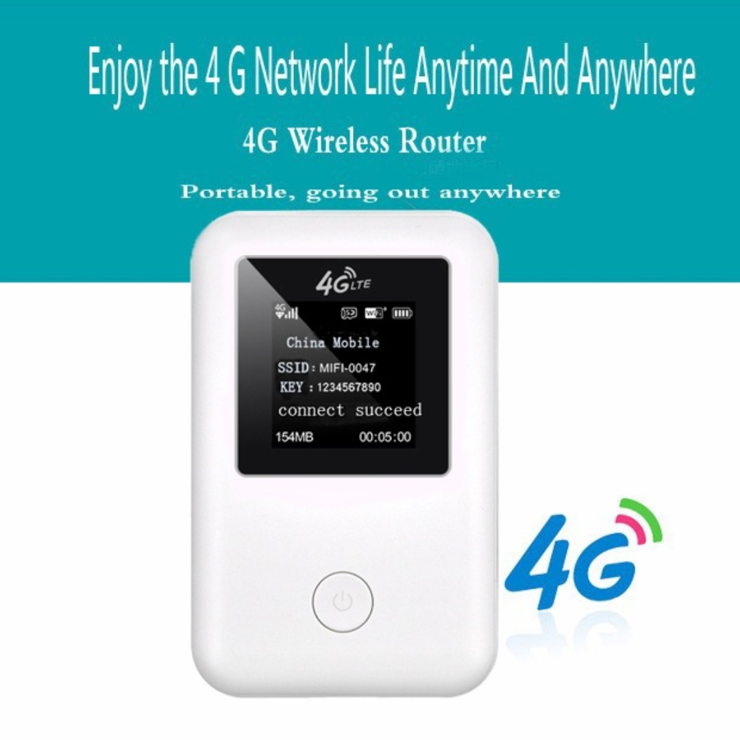 Latest Model 4G LTE Mobile Hotspot Wireless Broadband Mini