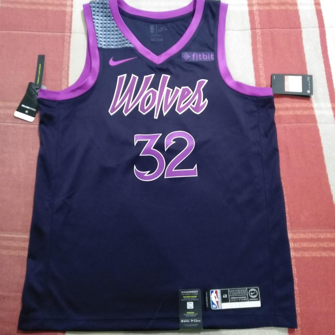 best loved e99ad e2320 Legit Brand New With Tags Nike Karl Anthony Towns Minnesota ...