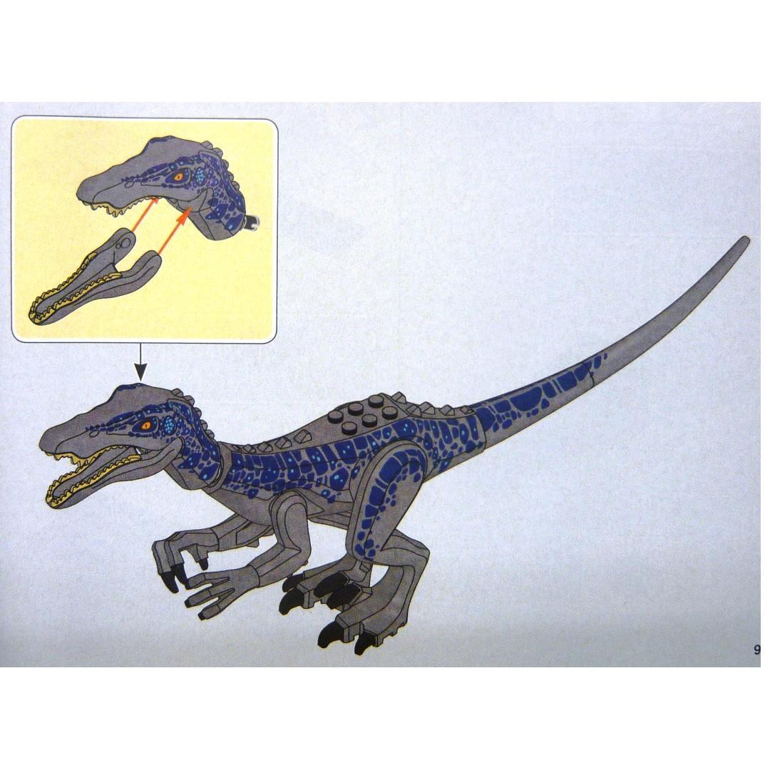 LEGO Jurassic World 75935 Baryonyx only 淨恐龍1隻 (全新 未砌 與 75934 75937 75938 75932 共融)