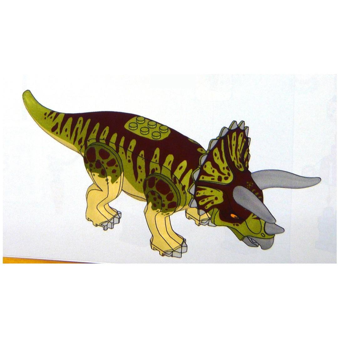 LEGO Jurassic World 75937 Triceratops only 淨恐龍1隻 (全新 未砌 與 75934 75935 75938 75932 共融)