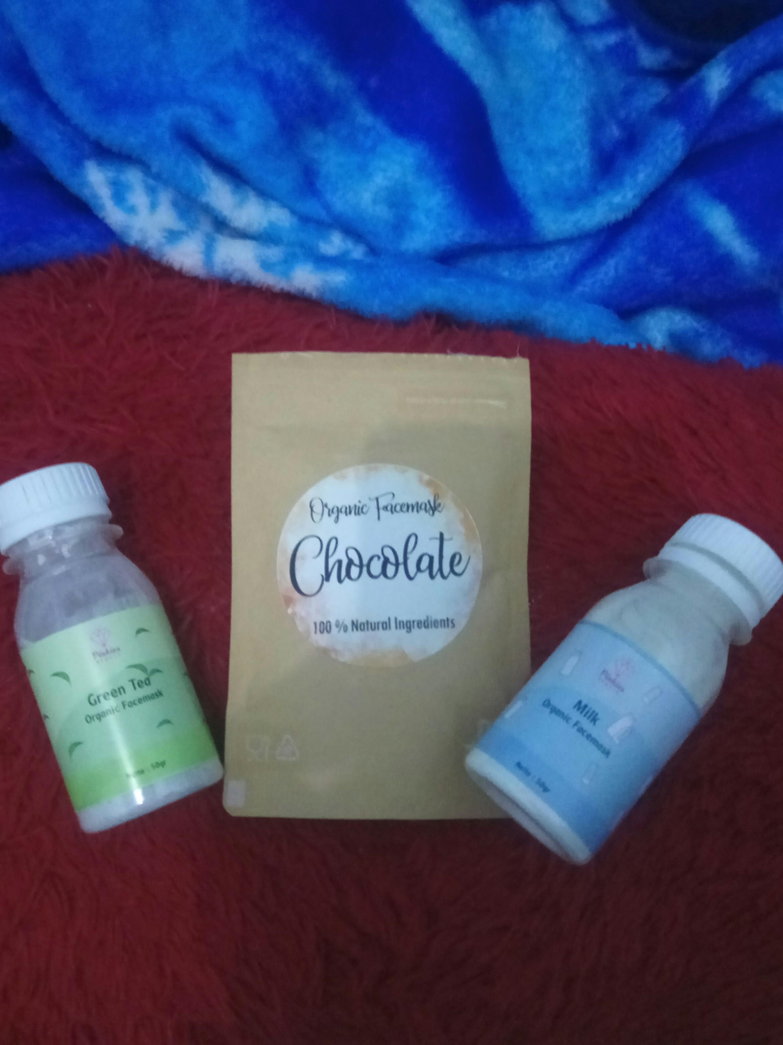 #mauthr Masker susu, greentea, coklat