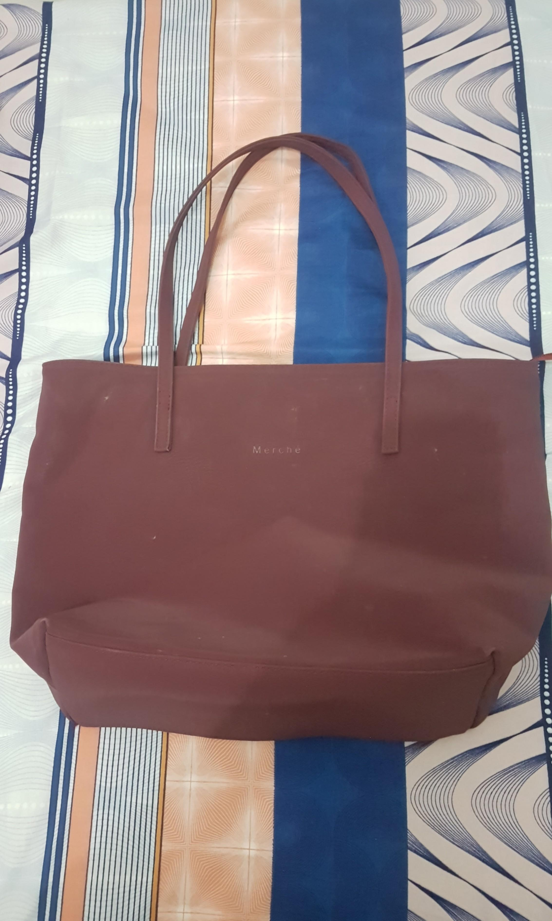 #mauthr Tote bag maroon