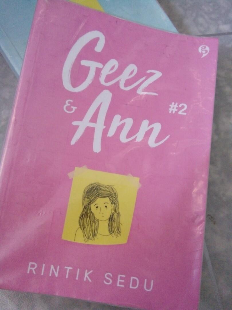 Novel Geez & Ann