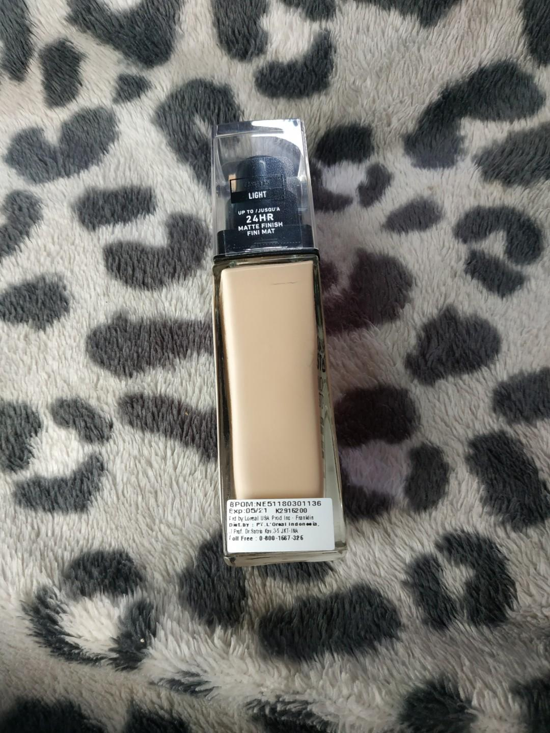 NYX can't stop won't stop foundation - light (30ml)