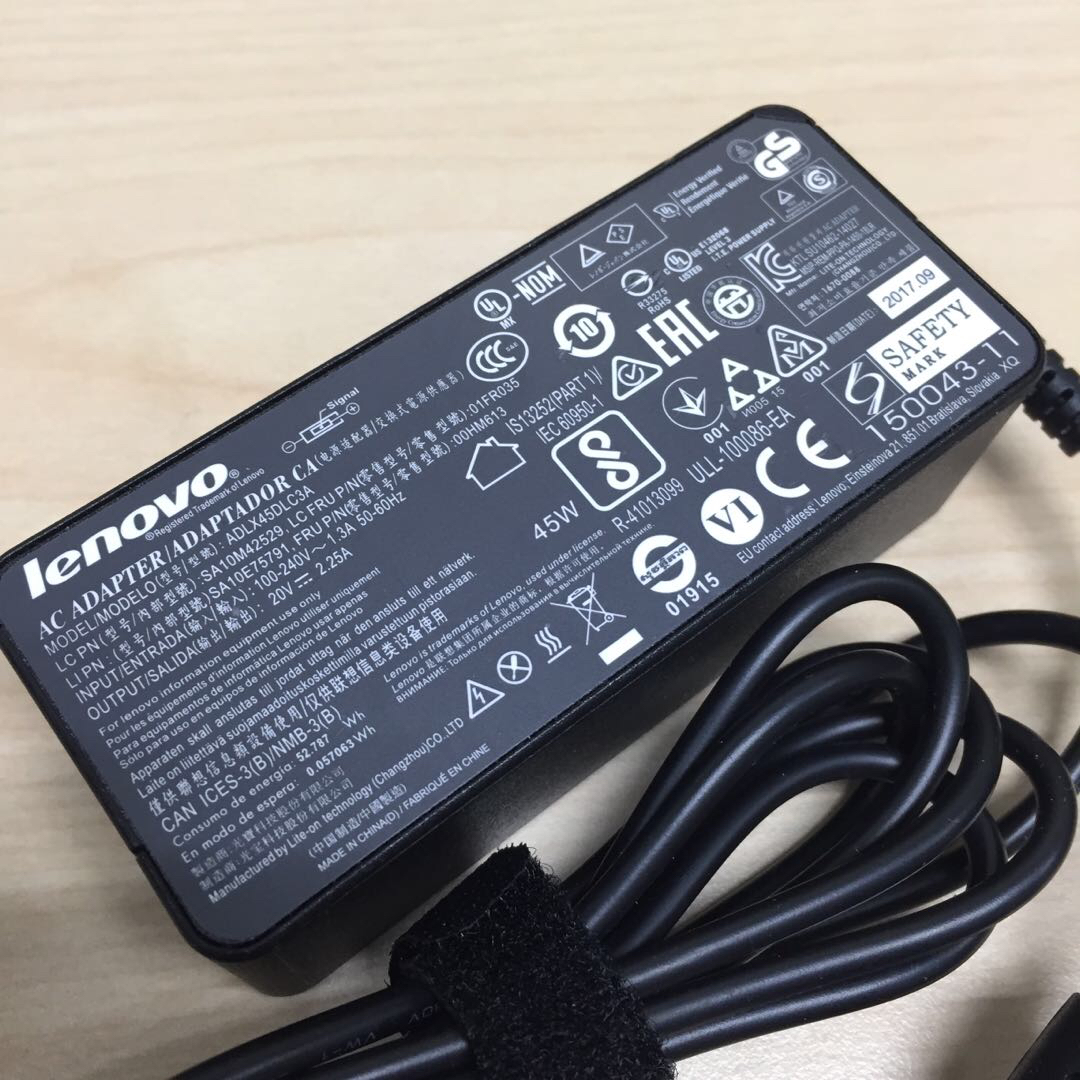 Original Lenovo laptop AC adaptor charger