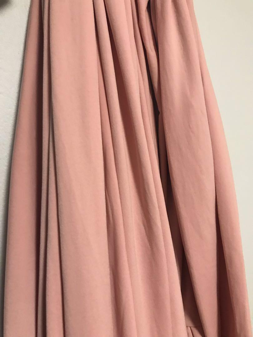 Pink infinity dress / gown (for bridesmaids or prom)