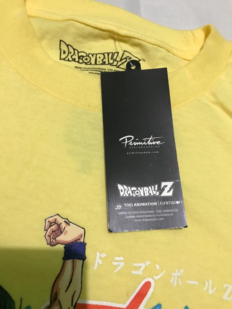 Primitive skateboard & Dragon Ball Z Tees