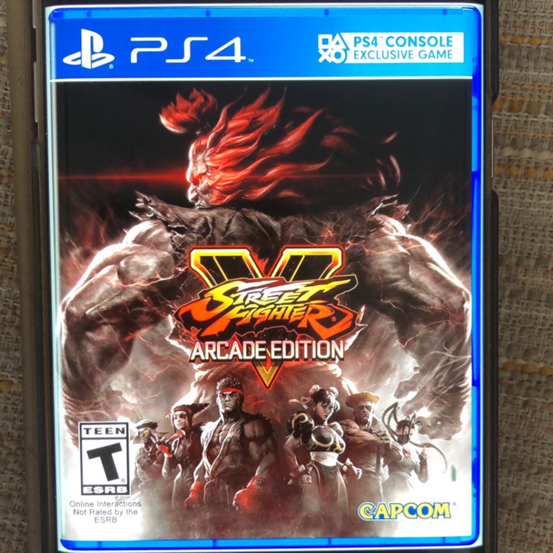street fighter v arcade edition deluxe ps4