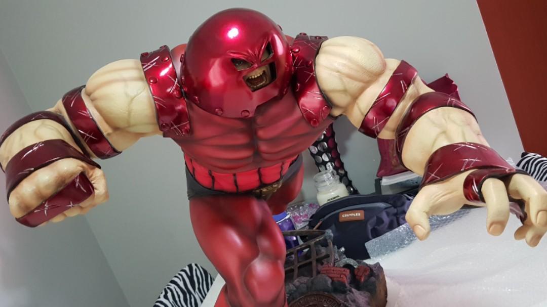 Rare Halimaw X-Men Juggernaut 1/4 toy statue sideshow XM hot item Xmen Marvel