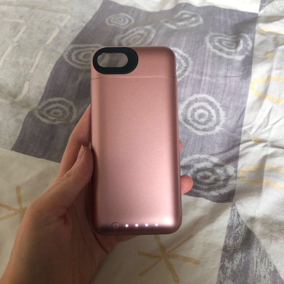 Rose Gold iPhone Mophie Battery Case