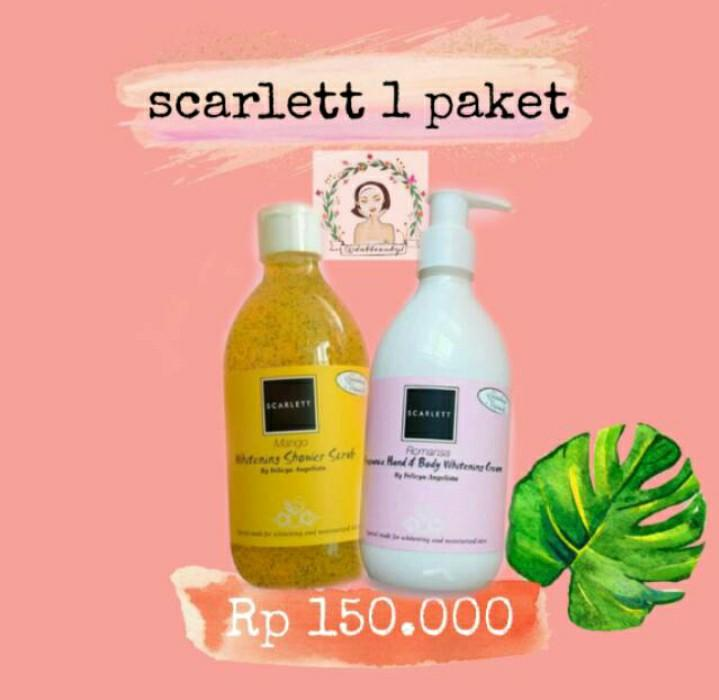 scarlett Handbody & Body Scrub