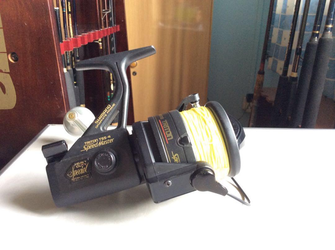 Shimano Speedmaster TSS-4 Fishing Reel