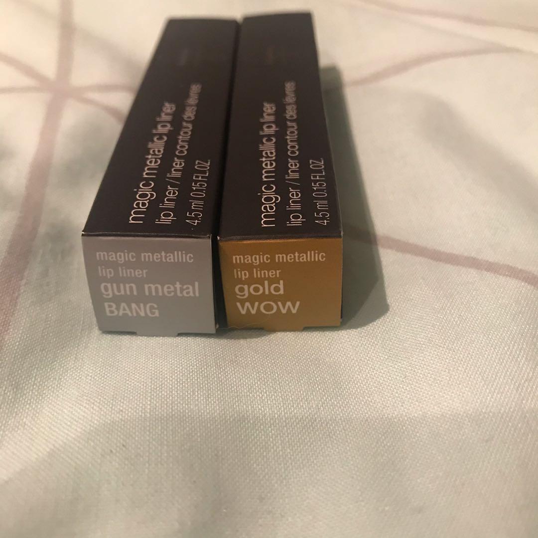 Shu uemura x Yaz Bukey collab magic metallic lip liner