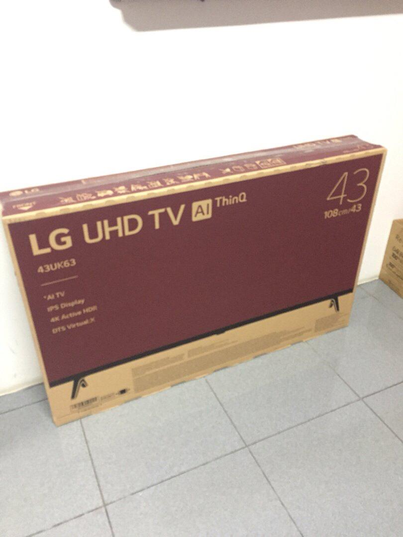 "Smart TV LG UHD TV 43"" [43UK6300PTE] bisa NEGO!"