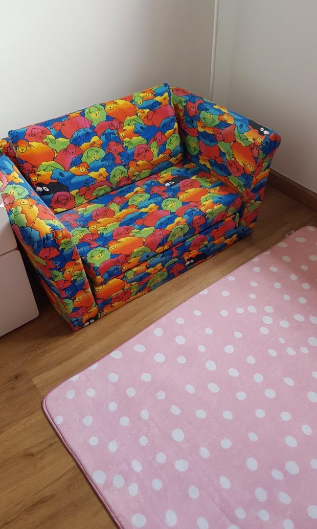 Picture of: Sofa Bed For Kids Toddler Furniture Beds Mattresses On Carousell