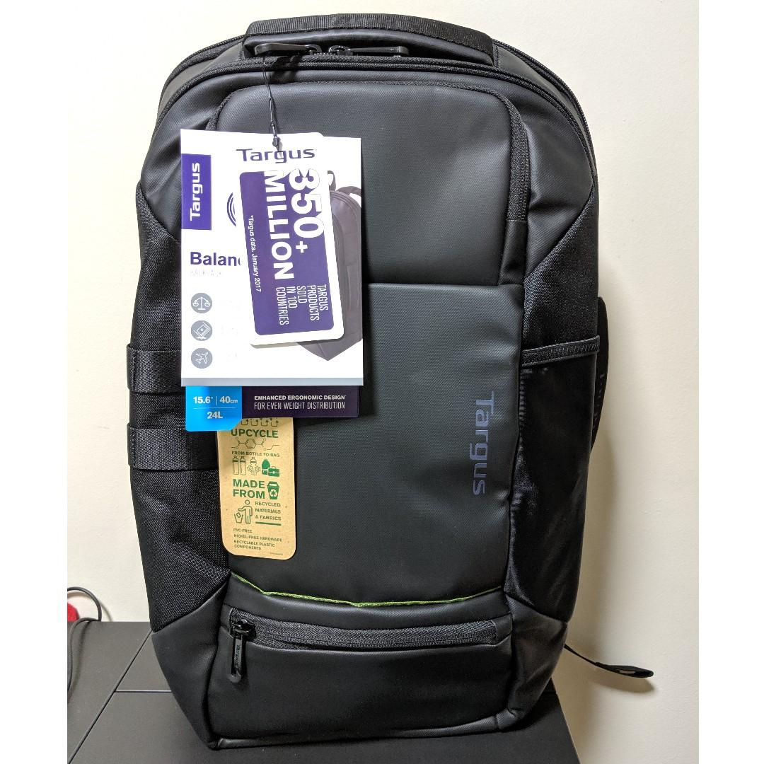 5403029ad29a Targus Balance EcoSmart Backpack TSA Checkpoint Friendly (15.6 ...