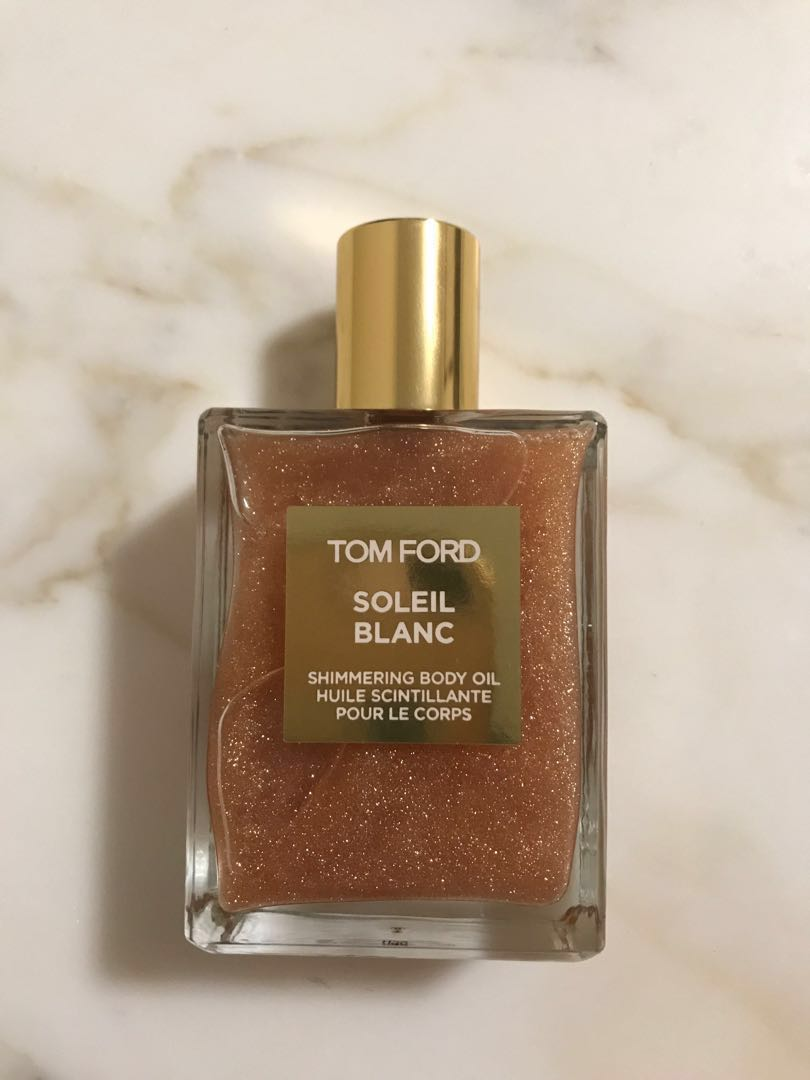 Tom Ford Soleil Blanc Shimmering Body Oil Health Beauty Fragrance On Carousell